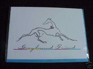 Greyhound Friend Notecard