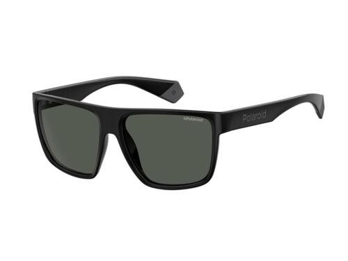 Occhiali da Sole Polaroid nero  Fedez PLD 6076//S grigio polarizzato 807//M9