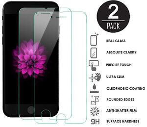 Tempered Glass Screen Protector Apple iPhone 6 / 6S / 7 / 8 iPhone 7 Plus 2-pack