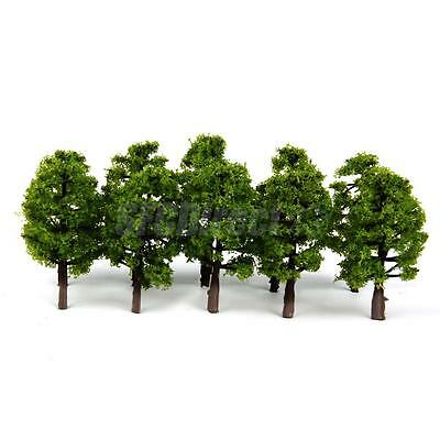 20pcs Train Layout Model Trees Architecture War Game Diorama Scenery 1:150 N