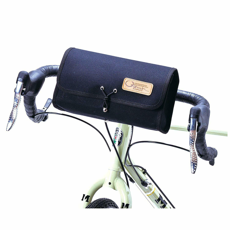 Bicicletas De Avestruz Bolsa Frontal Potari Negro algodón Canvas Nº 6 Made In Japan F S