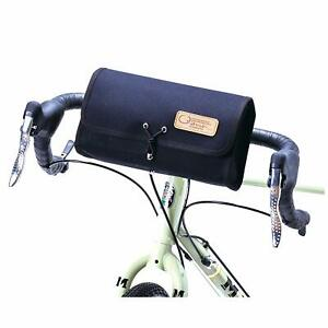 OSTRICH Bicycles Front Bag Green Cotton Canvas No 6 F-106 Made in Japan F//S