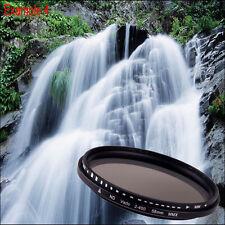 58mm Slim Fader Variable ND Filter Adjustable ND2-ND400 Neutral Density Filter