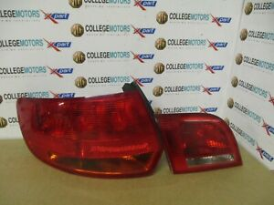 AUDI-A3-MK2-8P-05-08-N-S-PASSENGERS-INNER-amp-OUTER-REAR-LIGHTS-USED-CONDITION