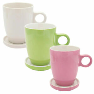 Pickwick-Tea-Porzellan-Tassen-Tee-Tips-im-Set-Glas-Tee-Untertasse