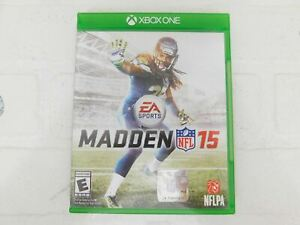 Madden NFL 15 (Microsoft Xbox One, 2014) Complete, Clean Disc