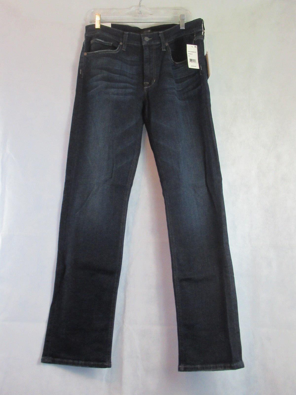 Joe's Jeans Men's Classic Fit Straight Leg Jeans, Thomas bluee Wash, 32x33
