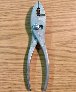 Diamond-Vintage-Pliers-Slip-Joint-Wire-Cutting-6-034-K36H-Cooper-Tools-USA