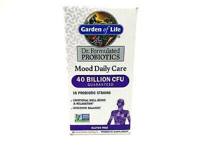 Garden Of Life Probiotics Mood Daily Care 40 Billion Cfu 30 Capsules 4 2021 Ebay