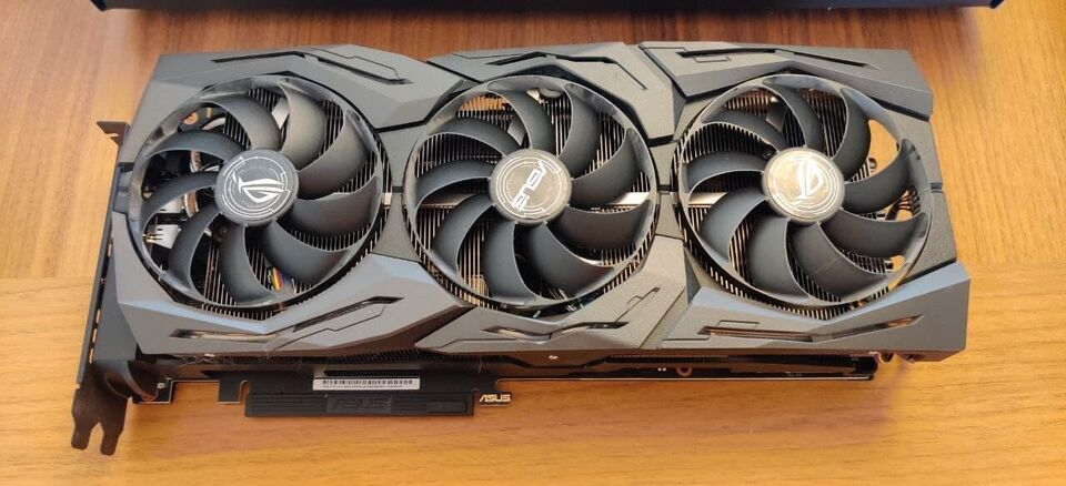 2080 RTX ROG Strix Asus, 8 GB RAM, Perfekt