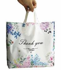 50pcs Thank You Plastic Merchandise Shoppingboutiqueretail Bags15x118x28