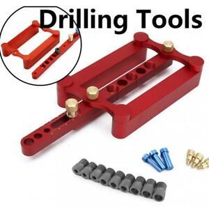 6//8 //10mm Self Centering Dowelling Jig Metric Dowel Wood Drill Holes Kit Tools