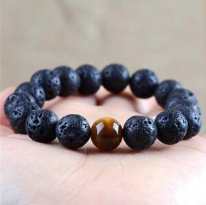 2019-Men-Charm-12MM-Natural-Lava-Stone-Tiger-Eye-Beaded-Diffuser-Bracelets-Gift