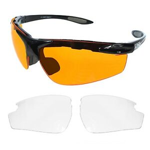 a39bb4d10d Image is loading Lomo-Elite-Cycling-Sunglasses-Glasses-With-Interchangeable- Lenses