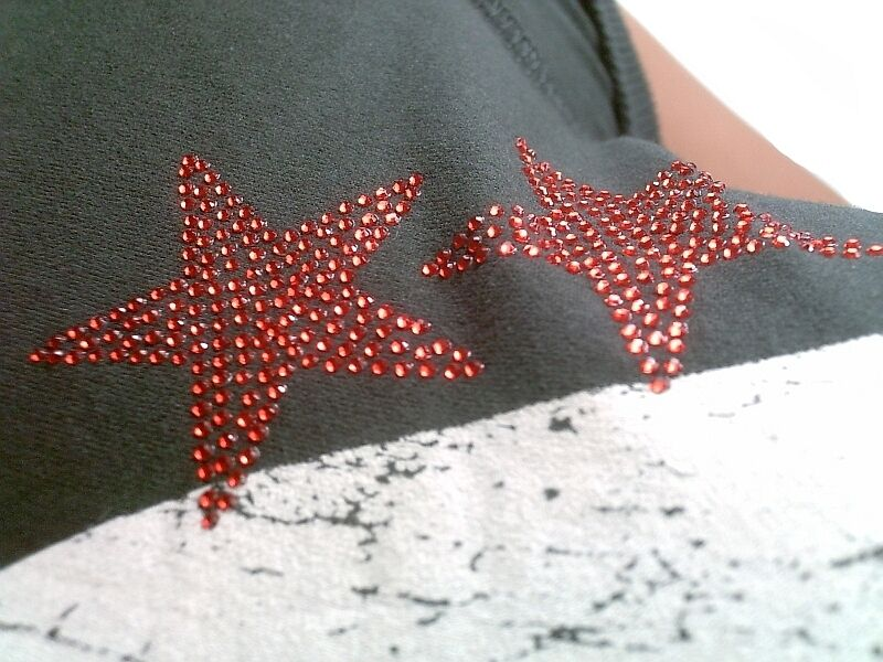 Amplified Official Lady Gaga Strass Tattoo Rock Star Vintage Vintage Vintage VIP WOW T-shirt G.M c6c9fe