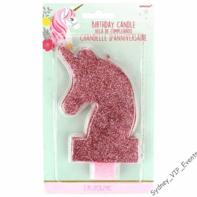 Pink Glitter Make a Wish Candle