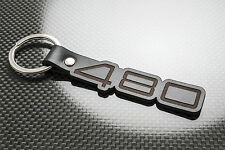 VOLVO 480 Cuero KEYRING LLAVERO SCHLÜSSELRING Porte-clés es 480ES Turbo