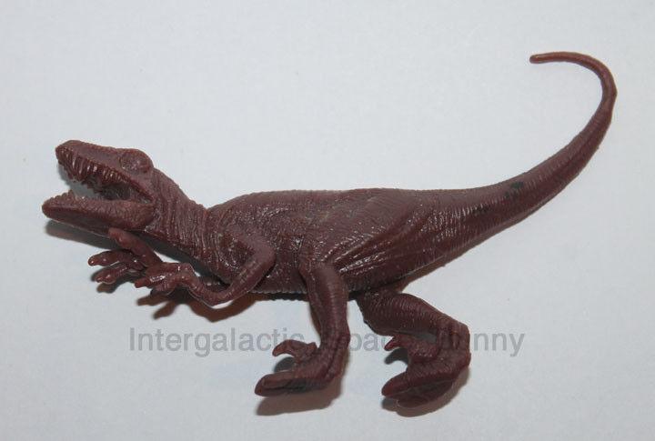 Hasbro Jurassic Park Original Velicoraptor Predotype Test Shot PVC Figure