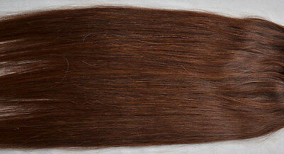"New 36"" Clip In Remy Real Human Women's Hair Extensions Straight 140g Brown #4"