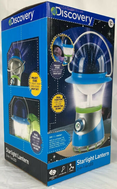 Discovery Kids Starry Night Starlight LED Lantern and Star Projector