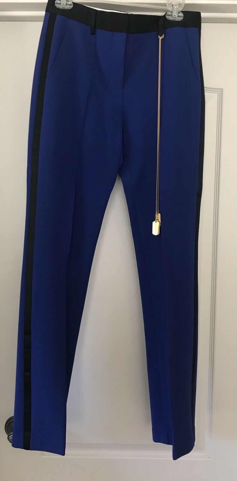 Adam Lippes bluee Pants NWT  Forty Five Ten Size 4