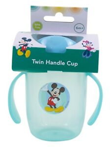 Minnie Mouse Toddler Baby Sippy Drinking Bottle Cup Infant Children Non Spill UK