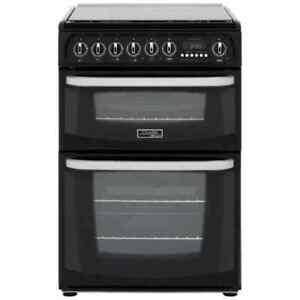 Cannon-by-Hotpoint-CH60DHKFS-Free-Standing-Dual-Fuel-Cooker-with-Gas-Hob-60cm
