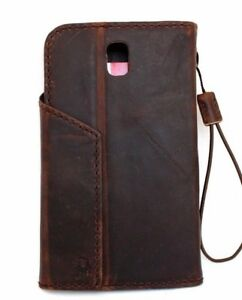 Genuine-leather-Case-for-Samsung-Galaxy-Note-3-wallet-cover-magnet-bracket-thin