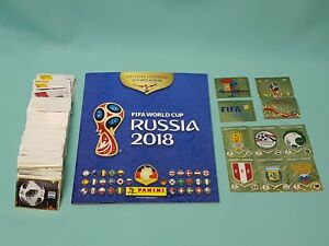 Panini-WM-2018-Russia-World-Cup-komplett-Set-alle-670-Sticker-Sammelalbum