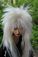 Dollfie BJD SD wig Perücke Star size 7-8 whiteblonde