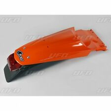 UFO KTM Supermoto Rear Fender with Tail Stop Light 640 LC4 2004 - 2007 Orange