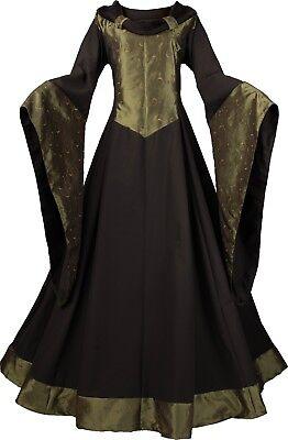 Mittelalter Gothic Karneval Kleid Gewand Kostüm Luthien Maßanfertigung Farbwahl