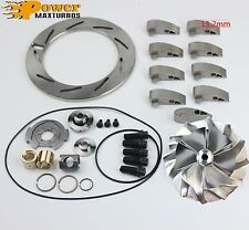 03-04 Powerstroke 6.0 GT3782VA Turbo Billet Wheel Rebuild kit 9Vanes Unison Ring