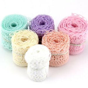 10Yard-Lot-6-Colors-New-Selling-High-Quality-Lace-Ribbon-Width-35MM-DIY
