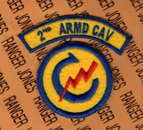 manufacturers direct supply US Army 2nd ARMORED CAVALRY REGIMENT ...