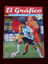 FIFA WORLD CUP 2006 Argentina vs Netherlands TEVEZ, MESSI - SPECIAL Magazine