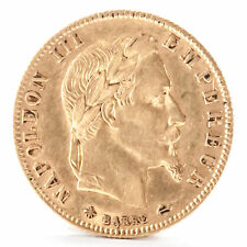 5 Francs Frankreich Napoleon III 1868 A Gold Münze France coin Pièce de monnaie
