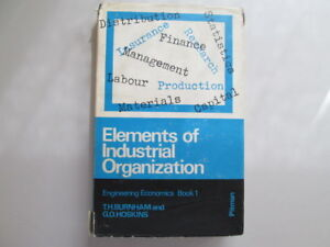 Good-Engineering-Economics-Elements-of-Industrial-Organization-Bk-1-Enginee