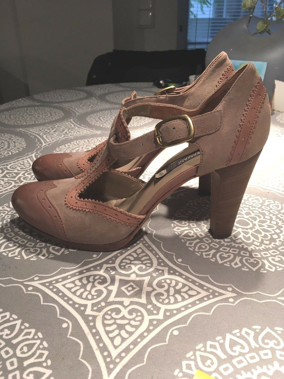 ALBERTO FERMANI, wunderschöne Schuhe, neu, Größe 39 (D)
