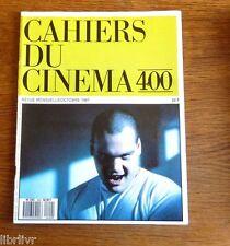 CAHIERS DU CINEMA N° 400 oct. 1987 Wim Wenders S. Kubrick  festival  Venise
