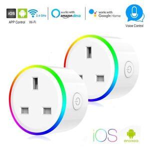 Wireless-Smart-Plug-WiFi-Sockets-Power-Socket-Amazon-Alexa-Google-Home