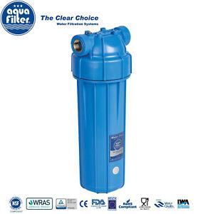 """Aquafilter 10/"""" acqua//Alloggiamento Filtro Biodiesel 1/"""" 3//4/"""" 1//2/"""" BSP PRV"""