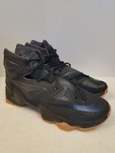 1bf0a02b1bad 09 New Nike Lebron XIII Black Lion Basketball Shoes Men Size 9.5 ...