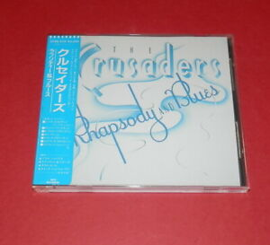 Crusaders-Rhapsody-in-blues-GIAPPONE-CD-jazz