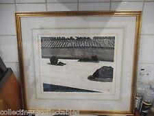 Seiichirô Konishi Japanese Woodblock Print Signed Ltd Edition 50/150
