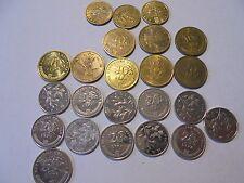 Croatia coins as listed