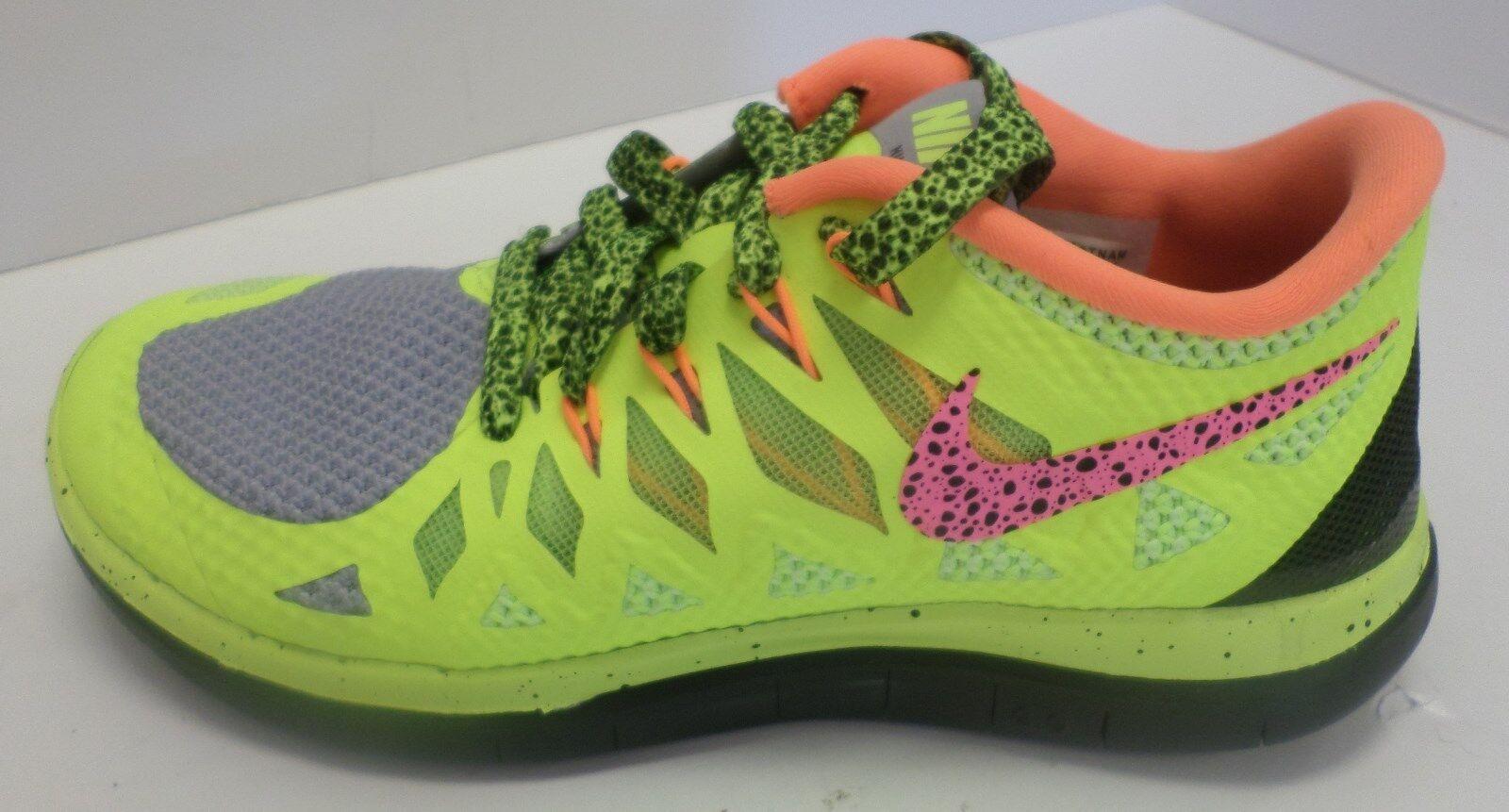 New femmes  NIKEiD Free 4.0 Training Shoe Volt/ gris /Orange/ noir  653717-991