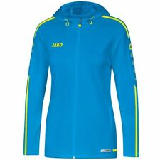 Details about  /Jako Sport Casual Training Football Women Hooded Jacket Full Zip Tracksuit Top