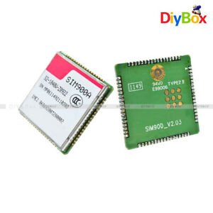 Details about Dual-band SIM900A GSM GPRS Wireless SMS Transmission Module  For Raspberry Pi