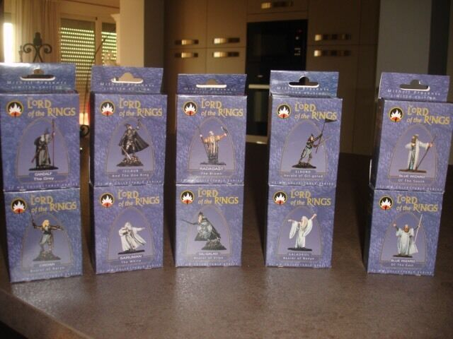 Le Seigneur Des Anneaux Lord Of The Rings Tolkien Figurines Mithril Warhammer